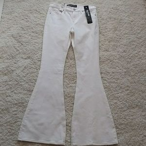 White Flare Express Jeans size 4R